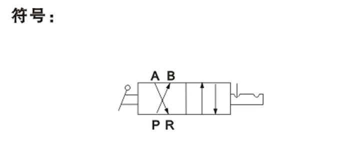 气缸电路图表示符号